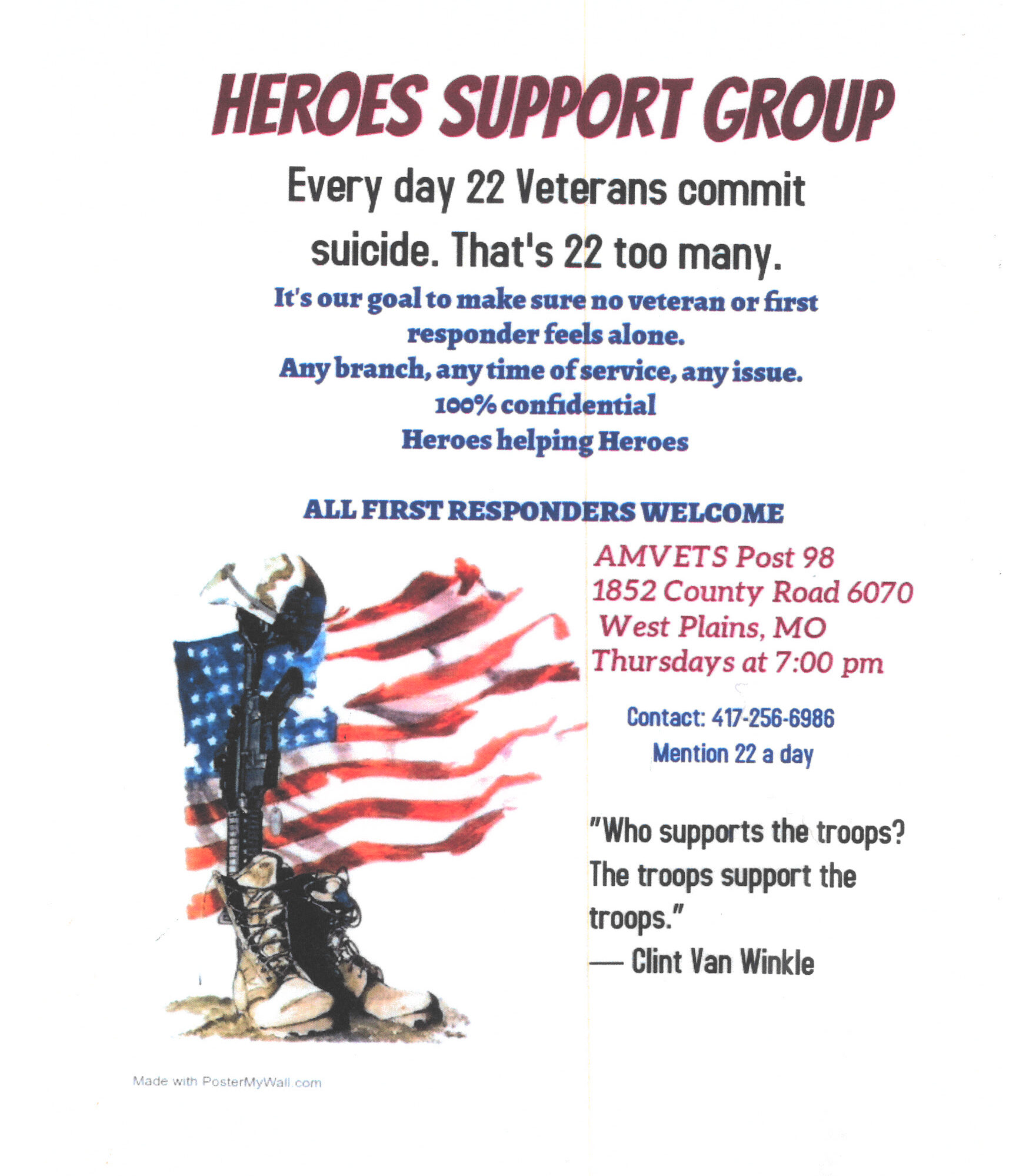 Heroes Support Group