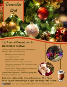 1st Downtown in December Festival
