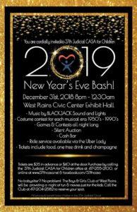New Year's Eve Bash @ West Plains Civic Center