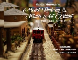 Holiday/Christmas Festival with Model Railroad Show @ Harlin Museum