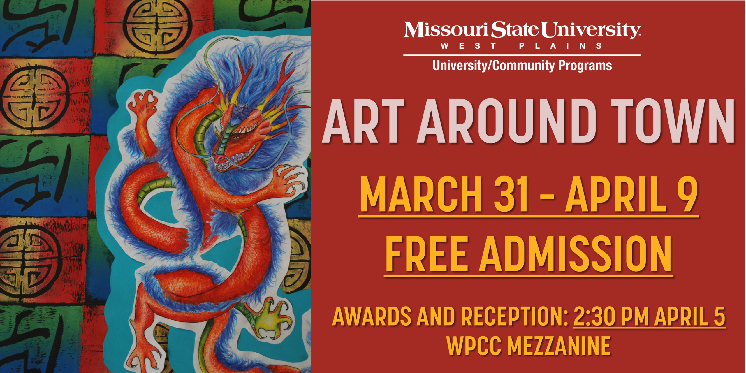 **Cancelled**Art Around Town @ West Plains Civic Center