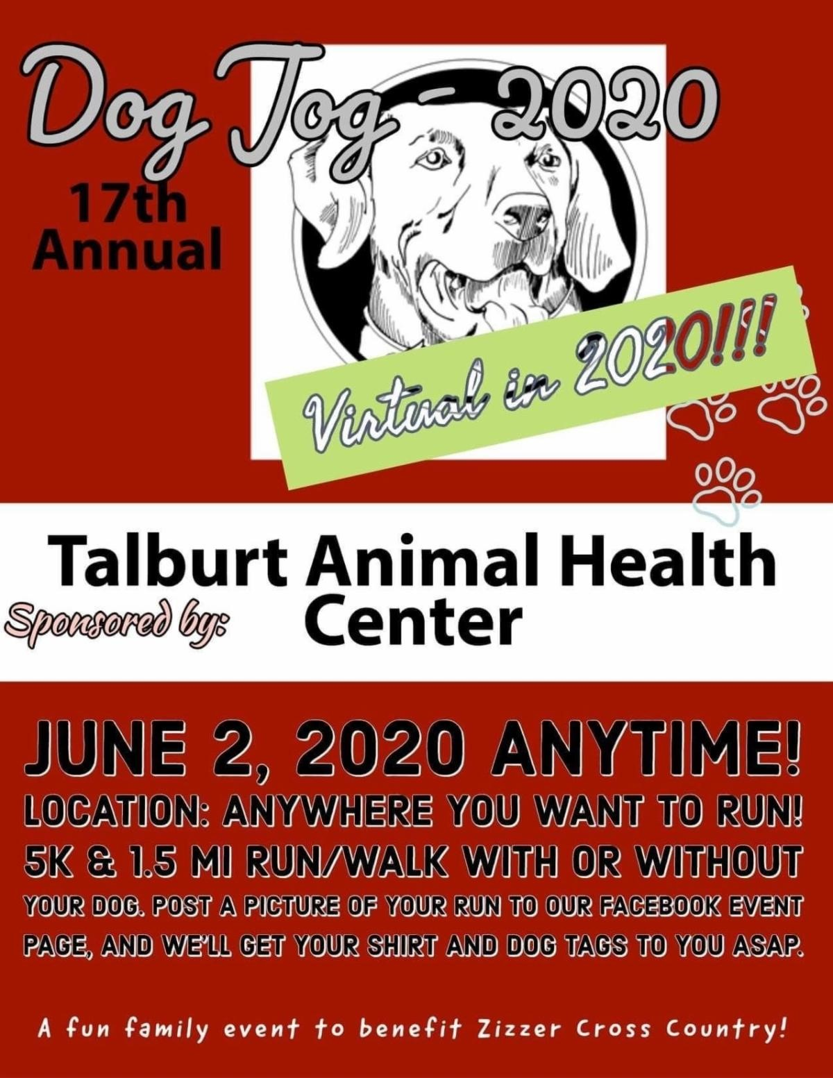 17th Annual Dog Jog @ Virtual Event