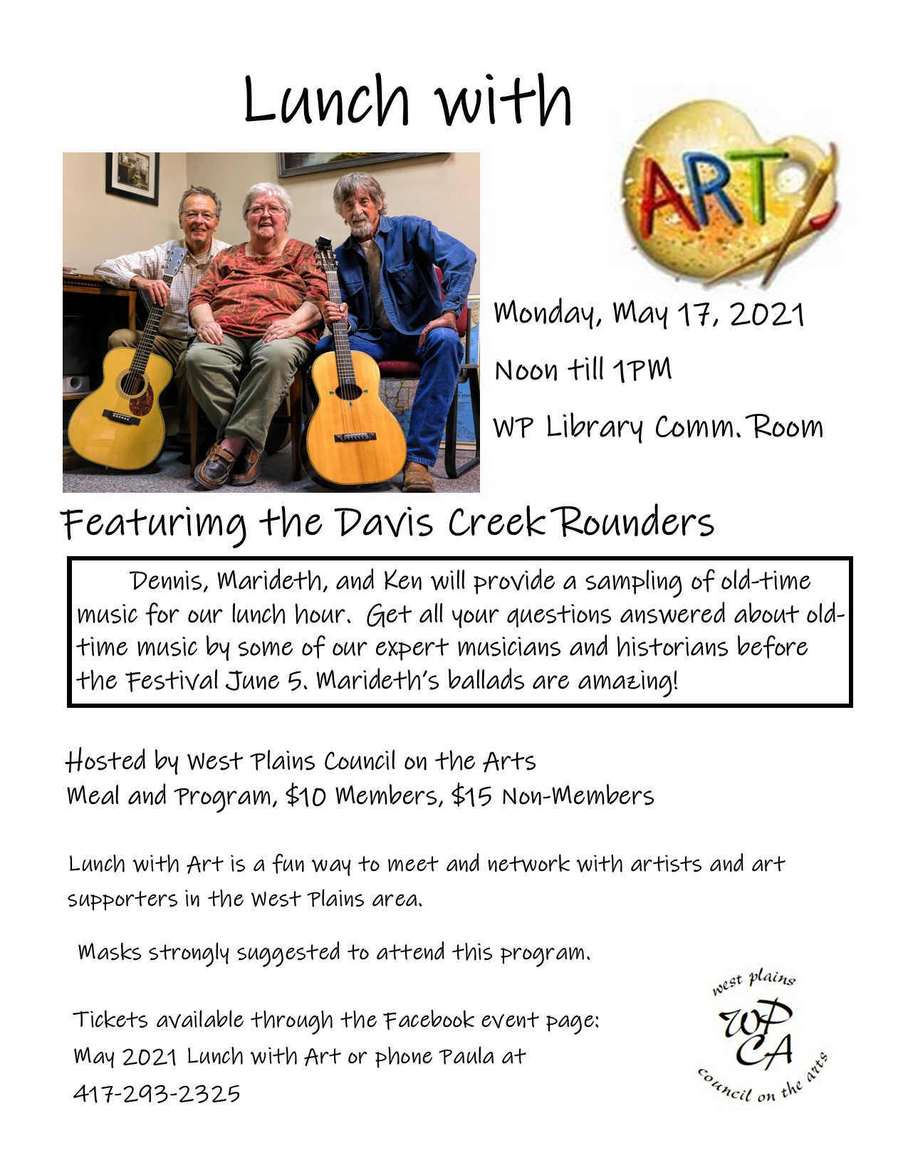 Lunch with Art @ West Plains Public Library