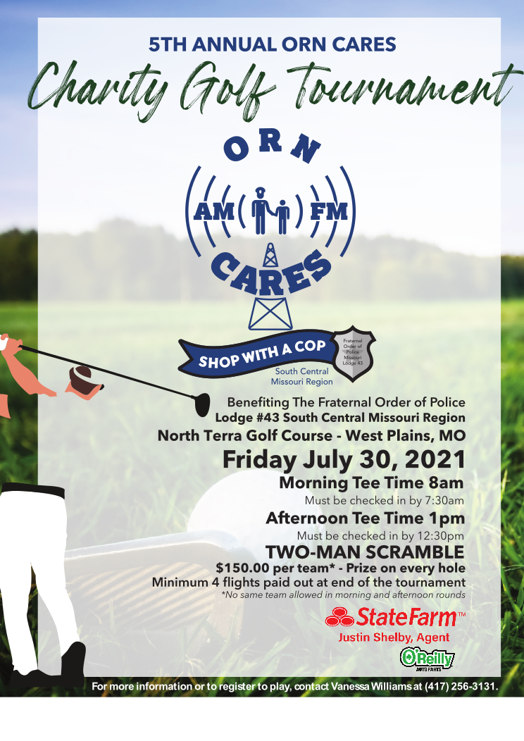 5th Annual ORN Cares Charity Golf Tournament @ North Terra Golf Course
