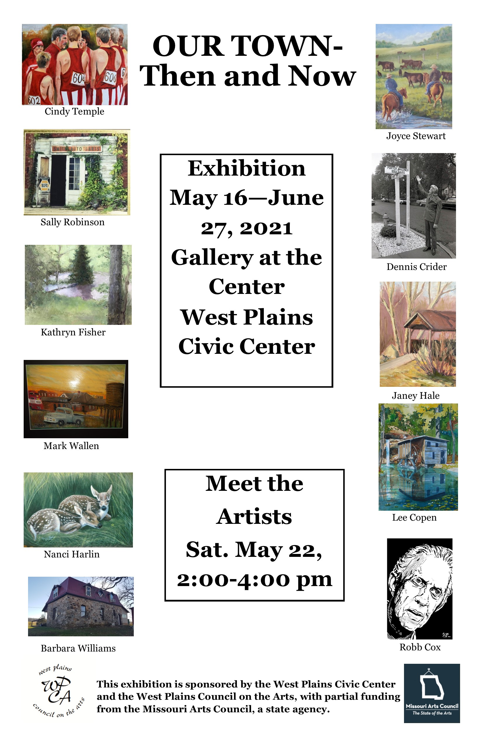 Our Town Then and Now Exhibit @ West Plains Civic Center