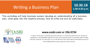 Writing a Business Plan @ OzSBI